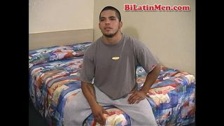 Hot bilatina & bilatino with a big uncut cock fuck hard