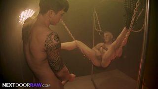 Rough & Raw Sex Swing Dungeon Fuck – NextDoorRaw 12 min
